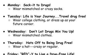 Red Ribbon Week October 22nd - 26th