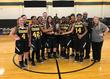 Lady Tigers Basketball Team AAC Champs!